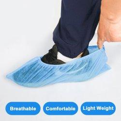 처분할 수 있는 Eco-Friendly 방수 파란 단화 덮개 방진 보호 실내 보호 장비 처분할 수 있는 단화 덮개