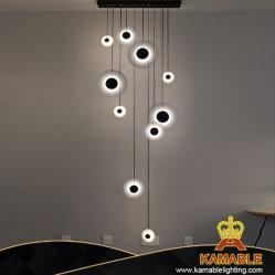 Nouveau design intérieur moderne décoration lustre LED lampe de la poignée de commande (KM/H811-10)