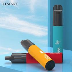 طراز Lovevape 800~4000puff الجديد مع شاحن USB ومتغير نكهة السجائر الإلكترونية