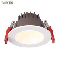 LED SMD 눈부심 방지 조명 기기 7W 다운 라이트 실내 매입형 화이트 컬러 스팟 조명
