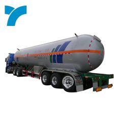 Semi remolque cisterna de gas tanque de gas licuado de petróleo de remolque semi remolque semi-GPL