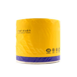Hohles Rollentoilettenpapier-Papier 180 G von 3 Schichten ungebleichtem Bambusmassen-Rollenpapier (T3)
