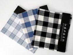 Zmyd 1134+21c bambou 32L*21lc coton de fils de toile de lin textile Pattern Cheked Linge de maison