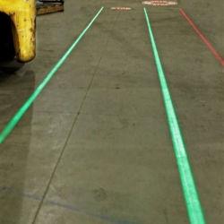 Virtuele Vloer die Virtuele het Merken van het Pakhuis van de Waarschuwing van de Laser Lichte Band voor VoetVeiligheid merkt