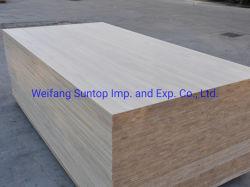 E0 Tableros de madera maciza de pino de pegamento con FSC Jas certificado para Corea del Sur, Japón, Taiwán Market
