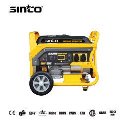 1-8kw a 50Hz/60Hz pequeña Potencia Silenciosa Arranque Eléctrico Portátil Generador de gasolina con CE/UE-V/EMC/Certificado de la EPA