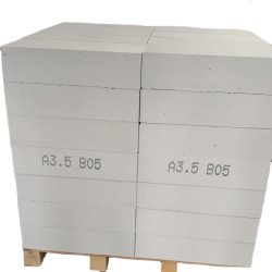 Aerated 구체적 경량 비행 Ash Sand 기반 AAC 블록 가격