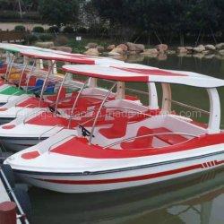 Les enfants de l'eau en plastique portable Petit bateau à aubes quelqu'un bateau de la pédale à main