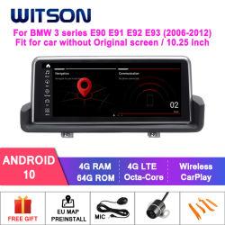 [ويتسن] [أندرويد] 10 كبيرة شاشة سيّارة تكنولوجيا الوسائط المتعدّدة لأنّ [بمو] 3 [سري] [إ90] [إ91] [إ92] [إ93] (2006-2012) عربة راديو نظامة
