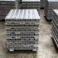 Lingote de aleación de zinc de alta pureza/Lingotes de metales no ferrosos lingotes/Zinc con un 99,99%