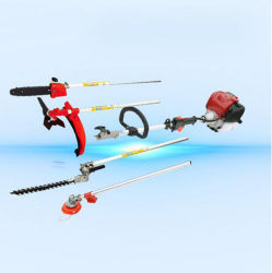 Qualität 4 in 1 Gras-Trimmer mit Funktions-Benzin-Pinsel-Scherblock-Gras-Trimmer Pole des Motor-Gx35 multi sah Heckenschere