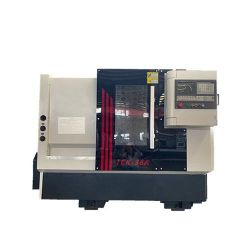 Mini Slant CNC Lathe Turning 금속 절단 공구 Tck36A