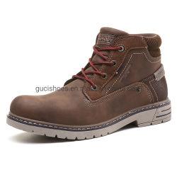 Botas de PU homens sapatos de Inverno o trabalho de couro Boot