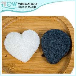 Cura e pulizia di pelle Konjac biodegradabili naturali della spugna di 100% mentre massaggio