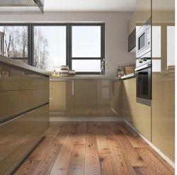 Massief hout klassieke keuken Cabrient met Marmeren Benchtop