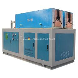Freqüência média rápida indução esboço para o tratamento térmico de metais