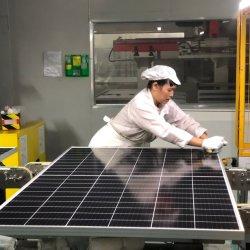 550W Longi Runsol PV Module de connexion de la grille du panneau solaire de l'énergie Store 545W/555W/605W mono Perc Hjt TUV Inmetro MCS SGS Système de pompage de lumière Lituanie Estonie Chili