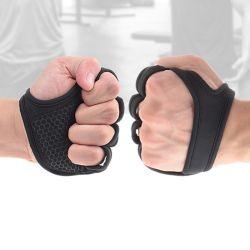 [جم] لياقة قفّاز يد نخلة مدافع [بودبويلدينغ] تمرين بدنيّ قوة وزن يرفع تدريب قفّاز يمسك دمبل كتل