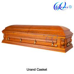 2019/en bois de placage bois/Funérailles et inhumation//peuplier/Oak/Cherry/acajou/cercueil tissé&Coffin
