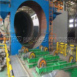 QG de la série interne et externe de tuyaux en acier de mur de sable spécial grenaillage Machine