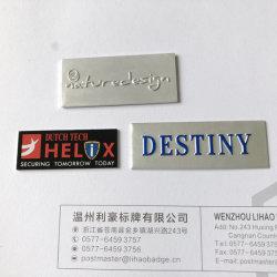 Machine d'aluminium métal personnalisée en usine Logo de la marque d'équipement autocollant