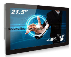 HDMI/AV/DVI/VGA 21,5-дюймовый сенсорный ЖК-экран
