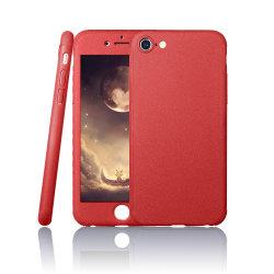 Para iPhone 7 caso de Corpo Inteiro 360 Graus Design híbrido Contracapa Luxury estojos de protecção para iPhone 7 caso com vidro da tela