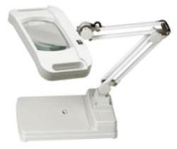 Tischplattenlampe Magnifer LED des tisch-5X Licht mit optischem Glas