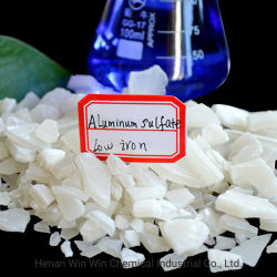 음식 또는 산업 급료 알루미늄 황산염 15.8%-17%