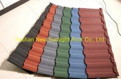 Bâtiment d'importation en provenance de Chine Materia Zinc Aluminium Hot vendre Stone-Coated tuile de toit de métal Making Machine sur 2019hot vendre