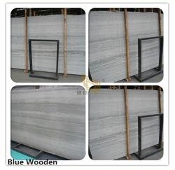 De marbre poli/beige bleu/blanc/brun bois Les plaques de marbre pierre carreaux pour cuisine/salle de bains/mur/Flooring/Step/gaine optique