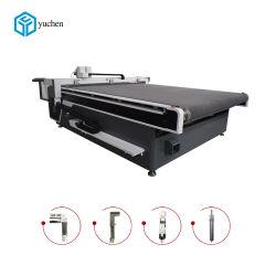 Heißer Verkaufs-Selbst-Führende Gerät CNC-Scherblock-Tuch-Ausschnitt-Maschine für Bekleidungsindustrie