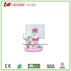 Вручную полимера с радостью Cat фоторамки для дома и настольное украшение