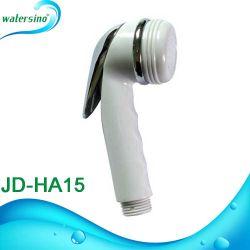 Diseño redondo blanco ajustable wc cuarto de baño bidé Spray