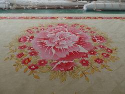 新しいデザインによってはホーム部屋のHandtuftedのカーペットの装飾が開花する