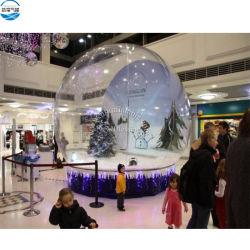 Рождество фестиваль оформление надувные гигантские снег земного шара фото стенд