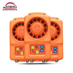 建物の通話装置の声システムアラームボタンが付いているスマートなドアベルの電話