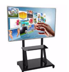 Dedi 75'' tout-en-un écran LCD interactif portable PC Tableau blanc
