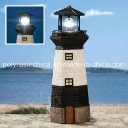 Grand phare de la fibre de verre solaire de l'artisanat