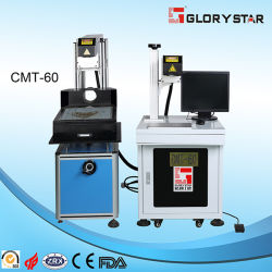 최신 판매 아크릴 이산화탄소 Laser 표하기 기계 Laser 조판공 Cmt-100