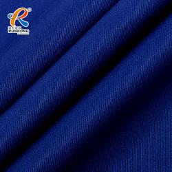 Poli tessuto ignifugo antistatico della saia del cotone per Workwear
