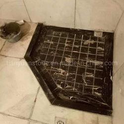목욕탕을%s 대리석 화강암 돌 샤워 기초