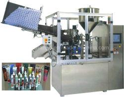 Totalmente Plástico Auto Mão Cosméticos Sanitizer Tubo de gel de enchimento e máquina de Vedação