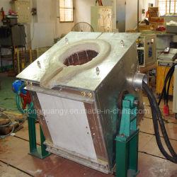 Forno de fusão por indução Industrial Prata fusão 100kg por hora