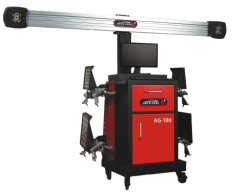 Autocare AG-100 automatische anhebende Ausrichtungs-Maschinen-Abgleichung-Garage des Rad-3D
