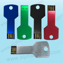 Custom Key USB Flash Drive with Logo