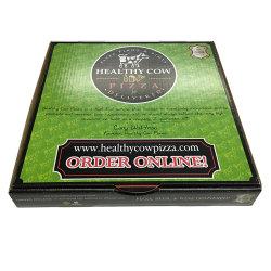 Bon marché et de carton ondulé recyclable Mailer Pizza boîte Kraft d'expédition
