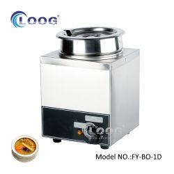Comercial de Aço Inoxidável equipamento de cozinha buffet Eléctrico Aquecimento Papinhas Sopa Eléctrico Bain Marie Pan com certificado CE