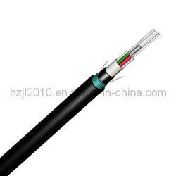 GYFTY53 cabo de fibra óptica do duto com fita Steel-Plastic de Papelão Ondulado