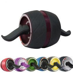 Invenção Fitness Ab Roda Cilindro Cilindro Roda Ab com tapete de joelho Ab Roller